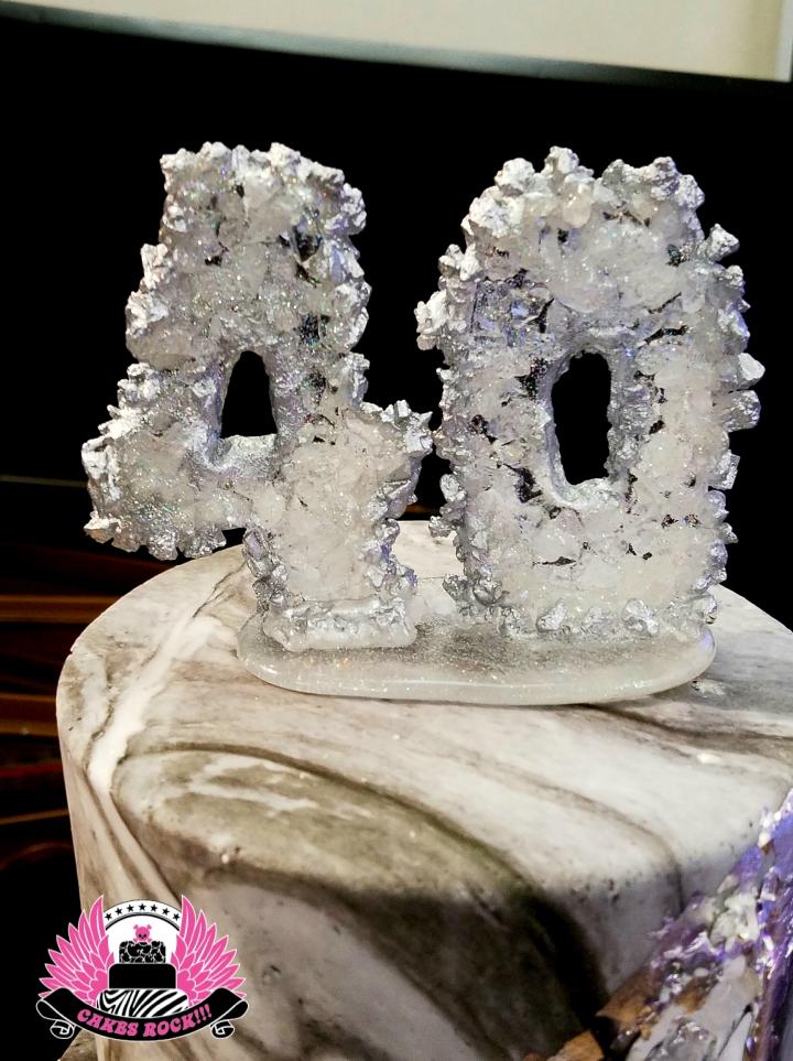 40 geode topper